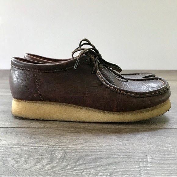 f22f6de5b69 Clarks Original Wallabees - Brown Oiled Leather